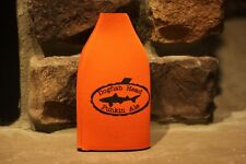 Pumpkin Beer Dogfish Head Punkin Ale Bottle Koozie Orange W/Shark Very Rare Htf