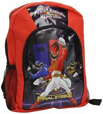Power Rangers Mega Force Sports Backpack Bag Free P&P