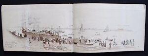 1878 Two Sketchbooks of artist Edward Eldon Deane