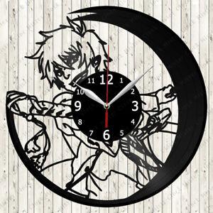 Blue Exorcist Vinyl Record Wall Clock Decor Handmade 6106