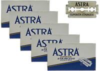 25 Astra Superior Acier Inoxydable Lames de Rasoir Pour Double Bord Gillette