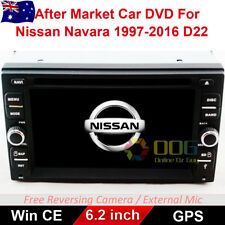 "6.2"" Car DVD GPS Navigation Head Unit Stereo For Nissan Navara 1997-2016 D22"