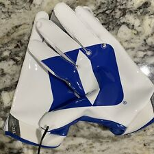 DUKE Blue Devils Nike Vapor Gloves Football NCAA Wide Receiver PE Size 3XL New