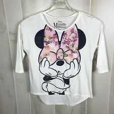 Minnie Mouse Girl's Shirt Size Large Pink Bow Disney's Minnie Mouse NWT E8