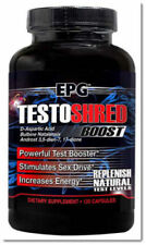 Testoshred Boost by EPG, Increase Natural Testosterone,Sex Drive,Strength