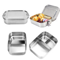 Portable Stainless Steel Lunch Box Picnic Food Storage Container Kids Bento Box