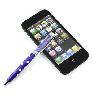2-in-1 Touch Screen Stylus Ballpoint Pen Universal Fr iPhone iPad Tablet Samsung