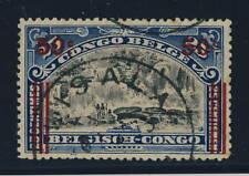 """BELGIAN CONGO BELGE - COB90 CAD ROND À ÉTOILE  """"LISALA"""" - TB"""