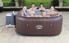 Bestway Lay Z Maldives Inflatable Hot Tub SPA Hydro Massage Seats 5-7 People