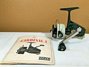 VINTAGE 1970's Zebco Cardinal 4 Fishing Reel - SN# 740100 - Great Condition!