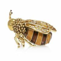 Jay Strongwater Winnie - Honey Bee Box 14K gold SDH7405-280