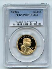 2008 S $1 Sacagawea Dollar PCGS PR69DCAM