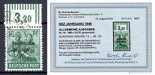 SBZ 1948 Mi.188c W OR gestempelt geprüft Befund Dr. Ruscher BPP (ex 182-197)