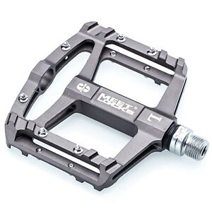 Durable Aluminum Alloy Mountain Bike Folding Pedals For Bicycle I4I9 D1U8