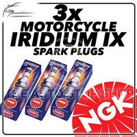 3x NGK Iridium IX Spark Plugs for TRIUMPH 1050cc Sprint ST (Incl. ABS) 04- #4218