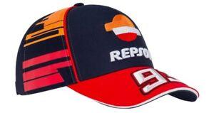 Honda Motorcycles Repsol Dual MM93 Marc Marquez Baseball Cap Hat NEW