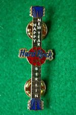 HRC HARD ROCK CAFE Berlino New Year 2002 wristwatch Guitar le250