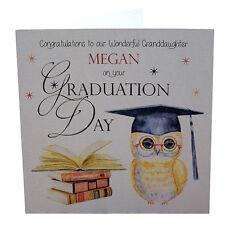 Personalised Graduation Card, Sister, Son, Granddaughter, Grandson, Friend