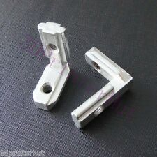 20pcs 2020 Aluminum Extrusion L-Shape Interior Corner Connector Joint Brackets