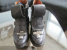 Seditionaries Rare Studded Boots + Seditionaries God Save The Queen Shirt