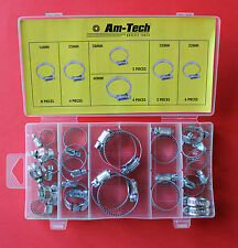 26 Piece Hose Clamp Assortment Jubilee Clamps 16mm,22mm,25mm,28mm,35mm & 40mm