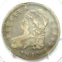 1813 Capped Bust Half Dollar 50C Coin - PCGS VF30 - Rare Certified Coin!