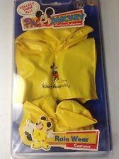 Disney Pal Mickey Interactive Costume ~Very Rare~ Rain Wear NIB
