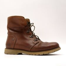The North Face Womens Ballard Lace II Brown Leather Cushioned Boots Size 6