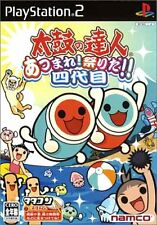 USED Taiko no Tatsujin 4th Generation: Gathering Festival Japan Import PS2