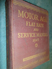 1939-1947 CHEVY FORD OLDS CADILLAC MERCURY DODGE & MORE SHOP AND PARTS MANUAL