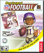 BACKYARD FOOTBALL 2006   Play with the pros as kids   New in Retail Box  PC Game