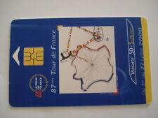 PHONECARD TELECARTE SPORT CYCLISME 87e TOUR DE FRANCE 2000