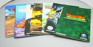 Lot of 7 - Nintendo GameCube Original Game Manuals - Fast Shipping in US!