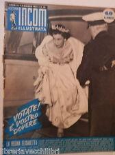 LA SETTIMANA INCOM ILLUSTRATA 11 luglio 1953 Ann Blyth Saragat Laura Adani di e