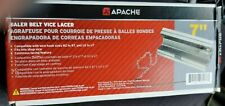 New 7 Clipper Apache Vise Lacer Tool Round Hay Baler Belt Lacer
