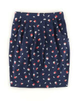 Boden Rock - Soft Printed Skirt - Stretch Taschen Sommer - NEU - UK 6 EU 34