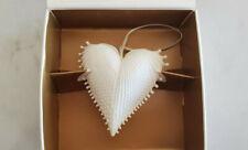 Porcelain Bisque Heart Wings Of Love Christmas Ornament Margaret Furlong