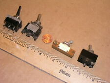 Four  Medium Toggle Switches