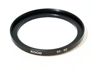 Stepping Ring 55-62mm 55mm to 62mm Step Up Ring Stepping Rings 55mm-62mm