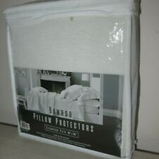 Ryanne Premium Bamboo Pillowcase Cover Pillow Protectors Soft Standard Size NEW!