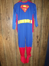 RUBIE'S SUPERMAN JUMPSUIT & CAPE BOY'S SIZE L HALLOWEEN COSTUME