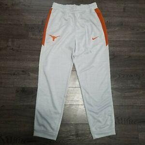 TEXAS LONGHORNS Nike Spotlight Basketball Pants Mens MEDIUM Dri fit Grey Elite
