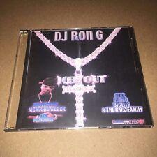 DJ RON G Iced Out #1 RARE NYC Hip Hop Mixtape Mix CD