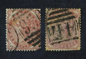 CKStamps: Great Britain Stamps Collection Scott#80 81 Victoria Used