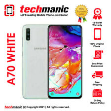 Samsung Galaxy A70 (dual Sim) - 128GB-Blanco (liberado) Smartphone-Grado A