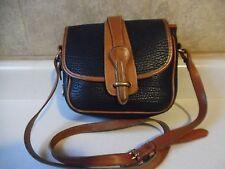 Vintage Dooney & Bourke All Weather Leather Messenger Crossbody Shoulder Bag