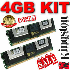 Kingston Ktm5780/4g Kit (2 X 2gb) Fb-dimm 240 Pines Ddr2 667 Mhz Pc2-5300 40t1474