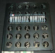 Major League Baseball Memorable Moments by Ken Leike...