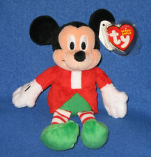 TY DISNEY MICKY MOUSE BEANIE BABY - WALGREEN'S EXCLUSIVE - MINT with MINT TAGS