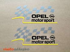 PEGATINA STICKER VINILO COCHE Tunning Opel motorsport